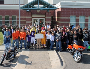 Participants in the Minnesota Laborers Ride for Charity raised $12,000 for the Ronald McDonald House.