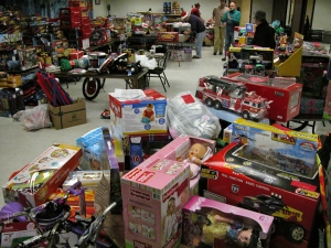 Last year's Operation Christmas Solidarity raised more than $25,000 in toys and household items for locked-out families.