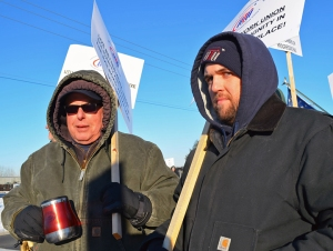 Stewart Howe (left) and Mike Bargmann are appealing Progressive Rail's grounds for firing them last year.