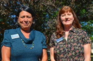 Sheila Pokorny (left) and Joan Killeen are loaned labor executives for the 2013 Greater Twin Cities United Way campaign.