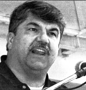 AFL-CIO President Richard Trumka spoke at Labor Day Extravaganza 2003 in St. Paul.