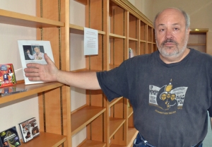 The shelves are mostly empty now, but Peter Rachleff hopes to move collections into the East Side Freedom Library by September, after replacing the building's roof.