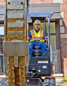 Brett Rickert, 20, of Avon attended as part of his curriculum at the Department of Labor & Industry's Humphrey Job Corps, a free program that provides students 1,000 hours of pre-apprenticeship training in the basics of construction work.