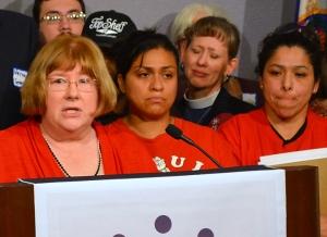 MNA President Linda Hamilton urges common-sense legislation to guarantee access to earned sick and safe time.