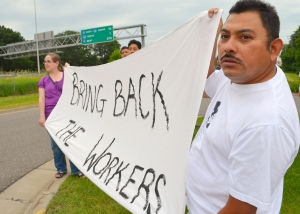 Supporters are asked to call Lexus of Wayzata, 952-476-6111, and Village Chevrolet, 952-473-5444, and tell them workers should not be fired for exercising their rights.