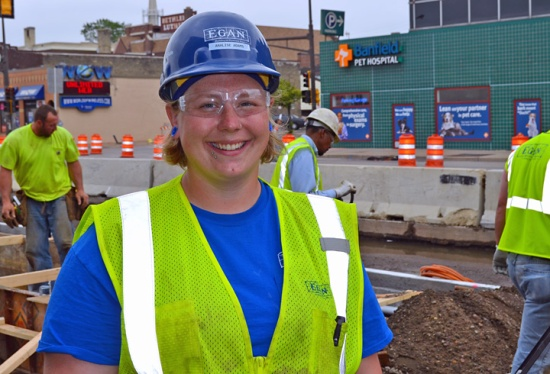 Analise Adams is among the first 18 women to complete Women Building MN, a pre-apprenticeship program supported by grant funds included in the Women's Economic Security Act.