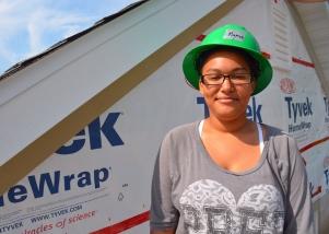 Planning and Economic Development intern Kanneelah Britton