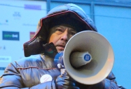 """Striking CTUL member Luciano Balbuena: """"I hope this strike is the last strike we will have to have."""""""