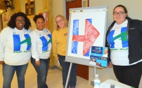 AFSCME Council 5 volunteers hit the streets for Hillary Clinton.