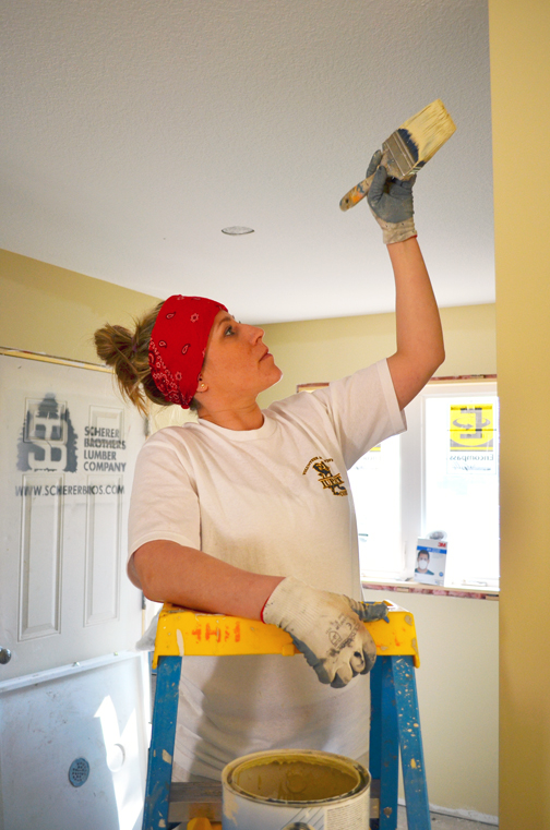 On national day of action, union painters brighten disabled vet's ...