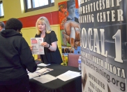 Jody Paulson offers information on an apprenticeship with Bricklayers and Allied Crafts Local 1.