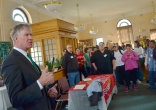 Mayor Chris Coleman's remarks open the Union Job and Resource Fair.