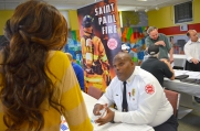 Gerone Hamilton, chief of community relations, represents the St. Paul Fire Department.