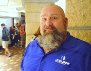 Laborers Local 563 member Dave Chell worked 18 months on the renovation.