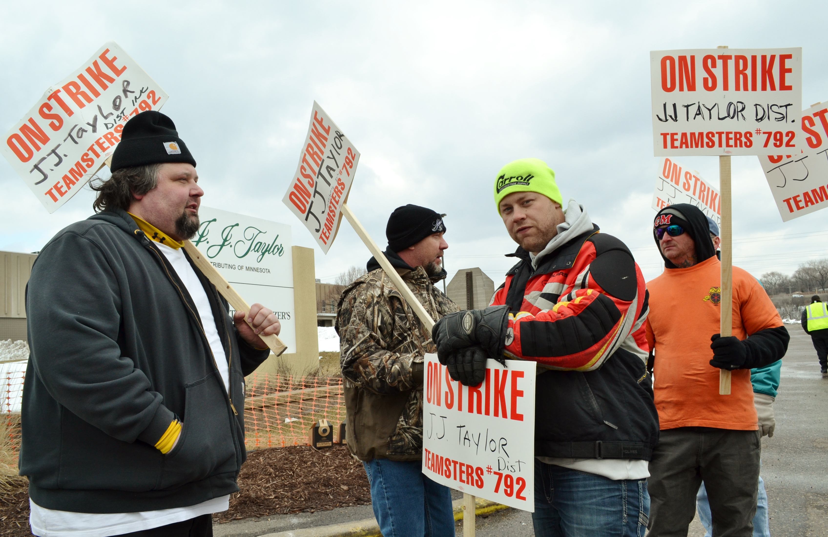 beer truck drivers strike for safe routes respect on the job
