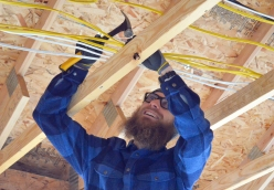 Fifth-year apprentice Jeff Winsor